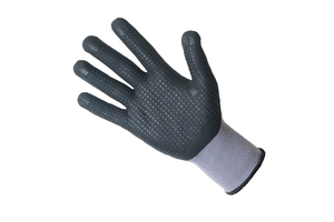F&T NITRILE DOTTED GLOVES 1810
